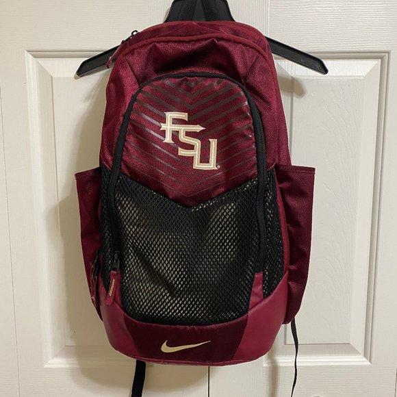 Nike Florida State Seminoles FSU Vapor Power Back Pack - EUC